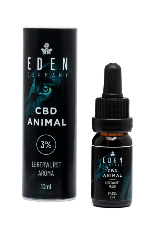 CBD Animal Öl Leberwurst